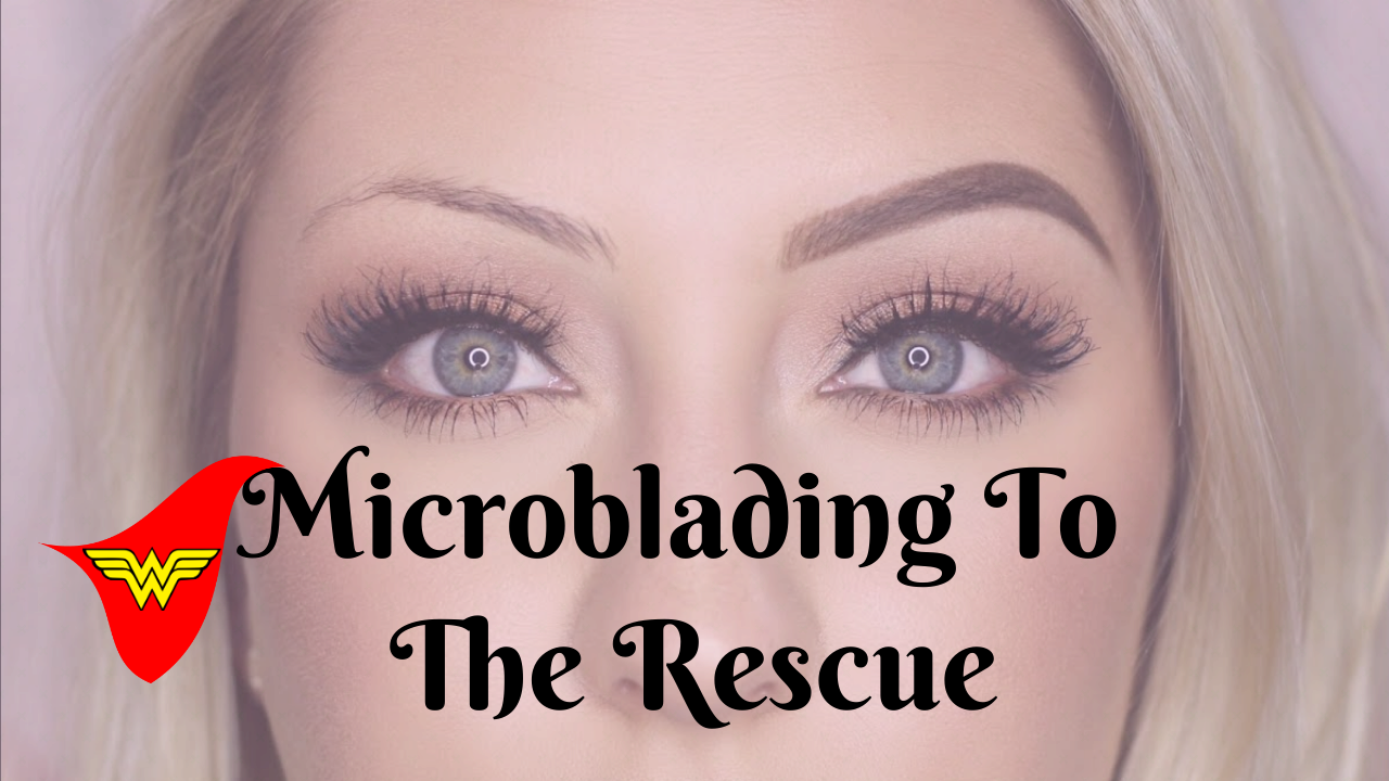 thin eyebrows and how microblading fixes them better brows